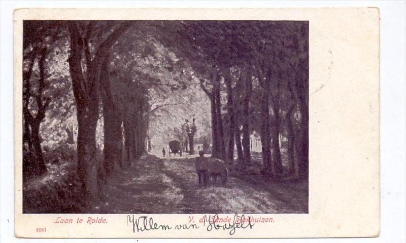 NL - DRENTHE - ROLDE, Laan te Rolde, 1904