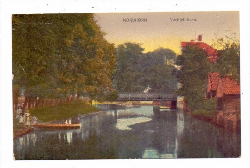 4460 NORDHORN, Vechtabrücke, 192...