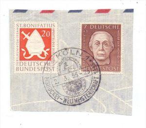 SPORT - EISHOCKEY - Sonderstempel, Eishockey-WM 1955, Köln
