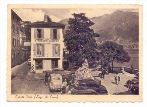 I 22010 CARATE URIO, Lago di Como, Ristorante Giardino, Oldtimer, Druckstelle