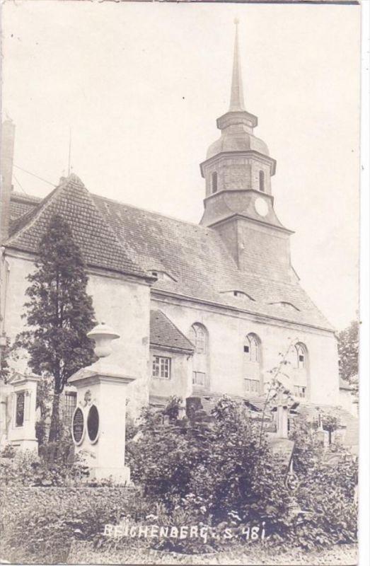 5423 REICHENBERG, Kirche, Photo-AK, ex-Sammlung Kunsthalle Mannheim