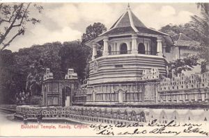 SRI LANKA / CEYLON - KANDY, Buddhist Temple, 1907