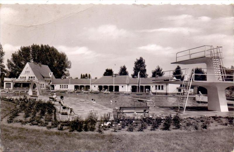 4740 OELDE, Freibad, 1957 0