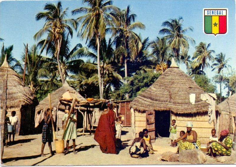 SENEGAL - Village en Casamance, ethnic / Völkerkunde
