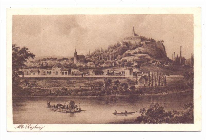 5200 SIEGBURG, Historische Ansicht, Eisenbahn