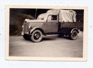 AUTO - KLEINTRANSPORTER Oldtimer, Hückeswagen, Photo 9 x 6 cm