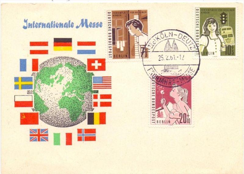 5000 KÖLN - DEUTZ, Frühjahrsmesse 1951, Sonderstempel-Beleg