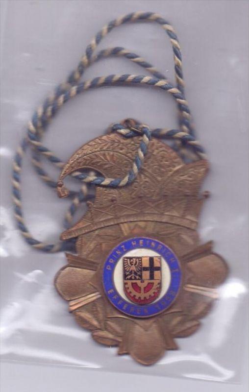5030 HÜRTH - EFFEREN, KARNEVAL, Orden 1958, Prinz Heinrich