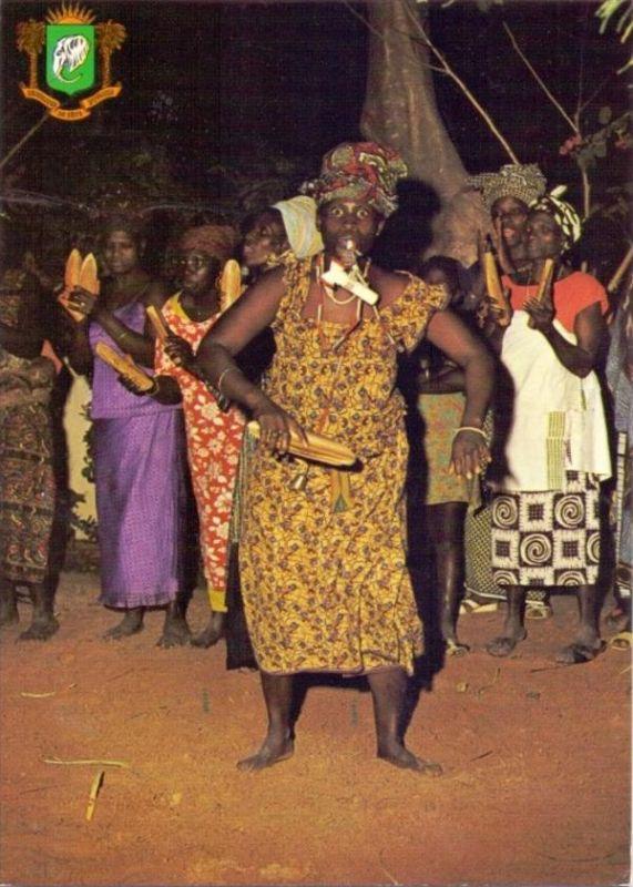 VÖLKERKUNDE / Ethnic - COTE d´IVORE, Ambiance