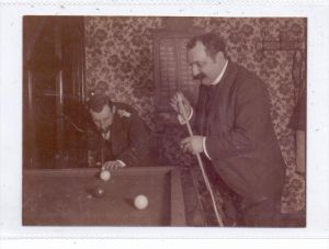 SPORT - BILLARD, Spielszene, Photo 12 x 9 cm