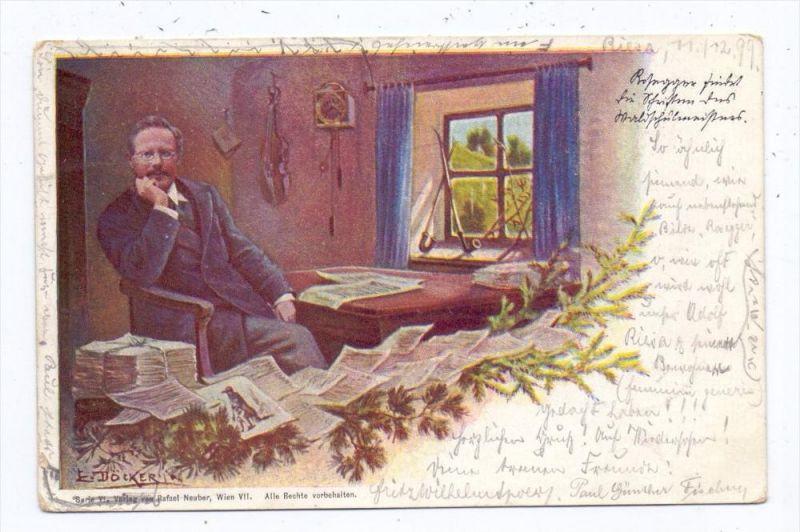 BERÜHMTE PERSONEN - PETER ROSEGGER, Schriftsteller, 1899