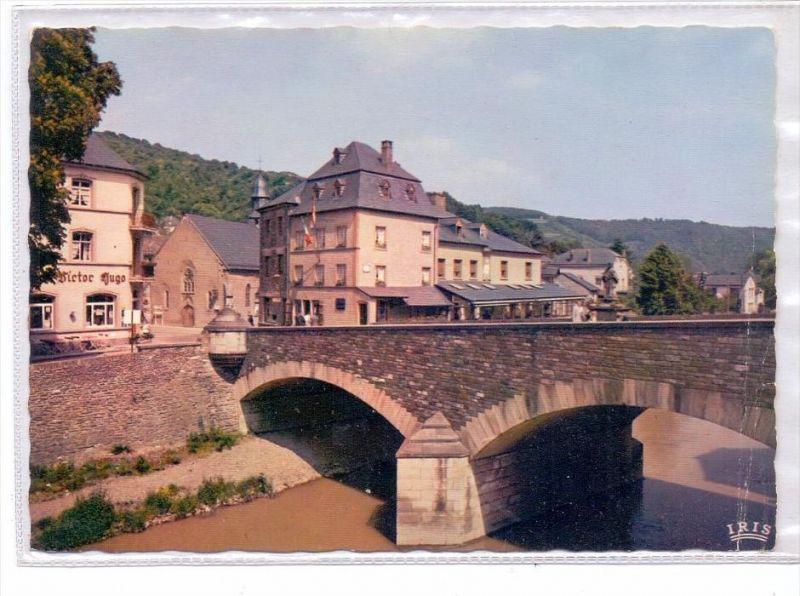 L 9400 VIANDEN, Our-Brücke, Heiliger Nepomuk, Victor Hugo Museum