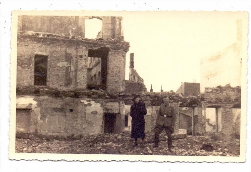 unbekannt / unknown - Zerstörungen 2.Weltkrieg, Photo-AK