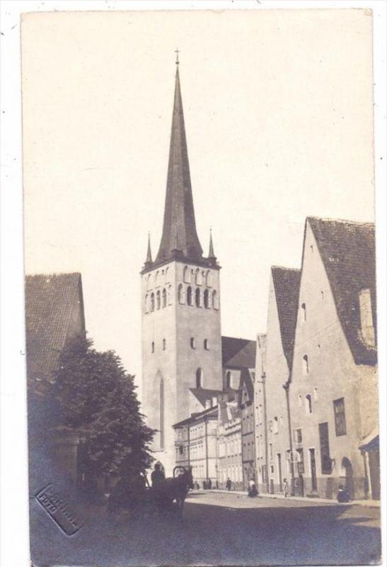 EESTI / ESTLAND - TALLINN /REVAL, Olewski Kirche, Photo-AK