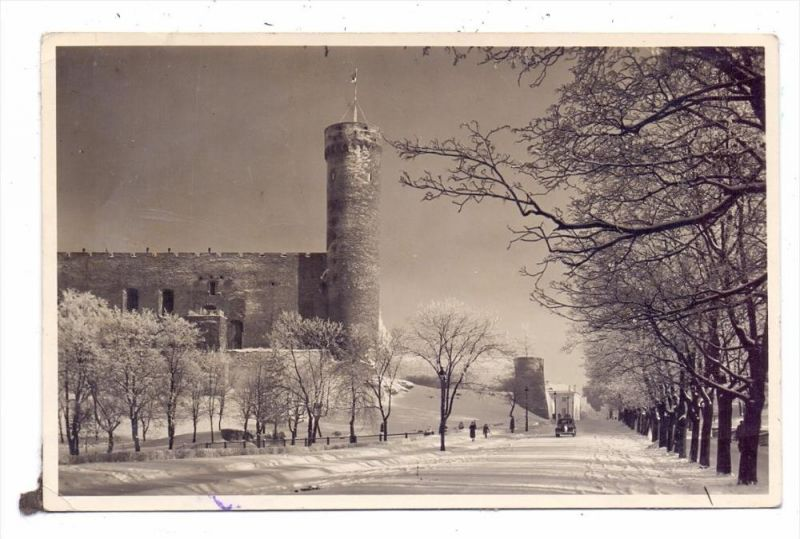 EESTI / ESTLAND - TALLINN, Pikk Herrmann, 1940, deutsche Zensur