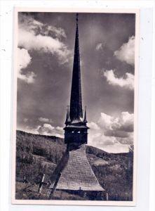ROMANIA / RUMÄNIEN - BUDESTI JOSANI - Siebenbürgen, Holzkirche in Siebenbürgen
