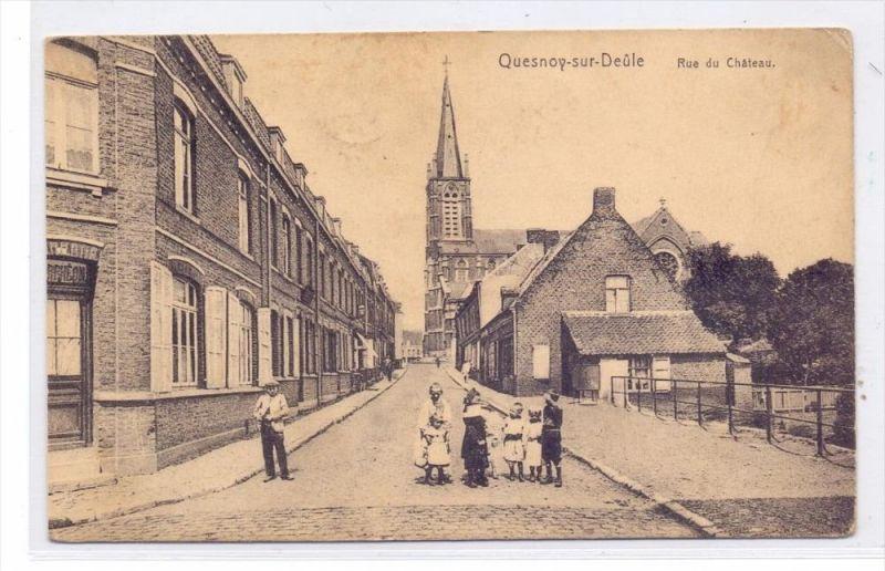 F 59530 QUESNOY - SUR - DEULE, Rue du Chateau, 1915, deutsche Feldpost