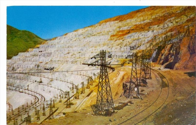 BERGBAU / Mining, Bingham Copper Mine, Utah