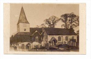UK - ENGLAND - SURREY - BOOKHAM, St. Nicholas Church, 1915, Druckstelle / AF