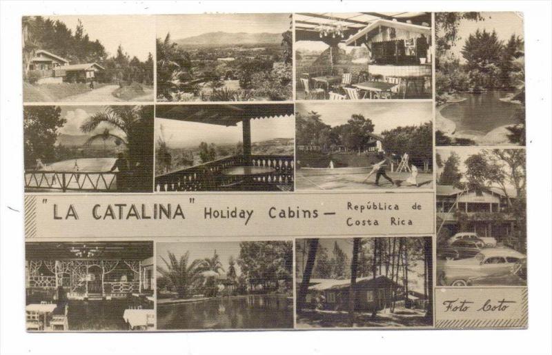 COSTA RICA - LA CATALINA, Holiday cabins, 1950