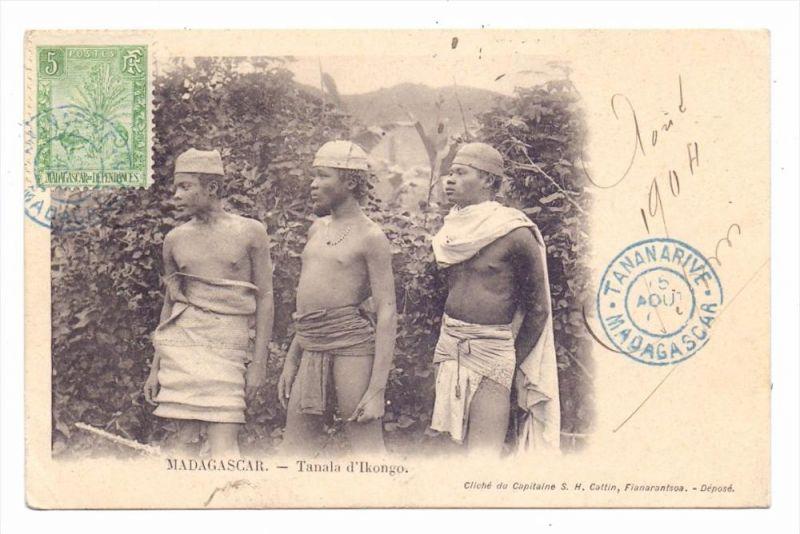 MADAGASKAR - Tanala d´Ikongo, Völkerkunde / ethnic, 1904