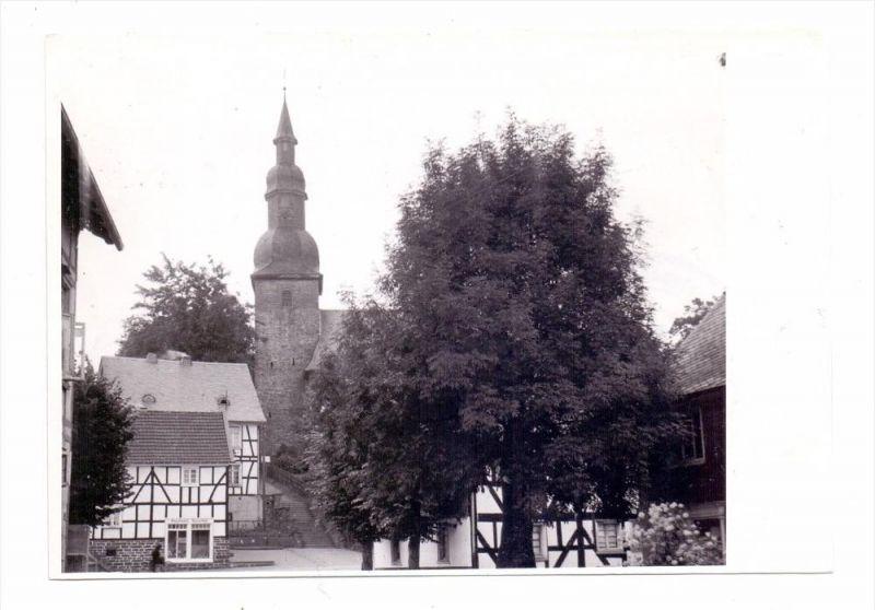 5226 REICHSHOF-ECKENHAGEN - ECKENHAGEN, Partie an der Kirche, Archiv-Beleg Korr-Verlag