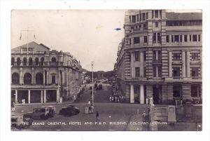 SRI LANKA / CEYLON - COLOMBO, Grand Oriental Hotel, P. & O: Building