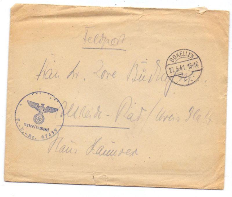 ostpreussen brokellen feldpost brief 1941 2 weltkrieg. Black Bedroom Furniture Sets. Home Design Ideas