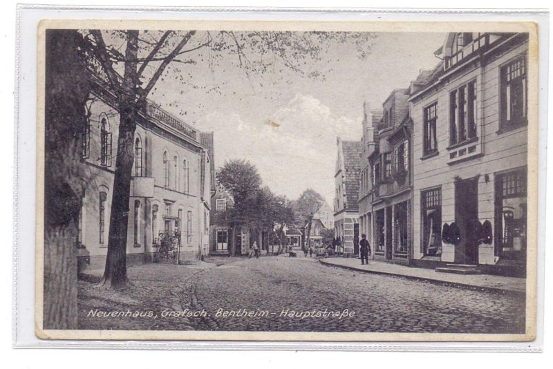 4459 UELSEN - NEUENHAUS, Hauptstrasse, Ende 20er Jahre