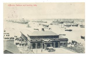 SRI LANKA / CEYLON - COLOMBO, Harbour and Landing Jetty, 1910
