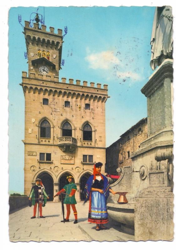 SAN MARINO - Castello, Costume / Trachten