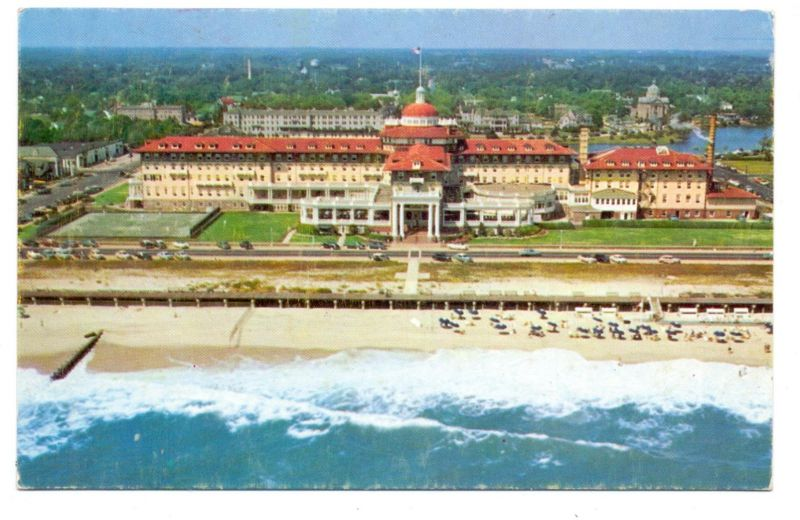 USA - NEW JERSEY - SPRING LAKE BEACH, THE MONMOUTH HOTEL