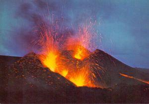 ISLAND - Vulkan, volcanic eruption, Hekla / Heklugosiö, 1970
