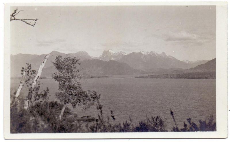 CHILE - Estuario del Reloncavi y cordillera del Puelo