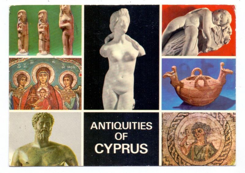 CYPRUS - Antiquities of Cyprus