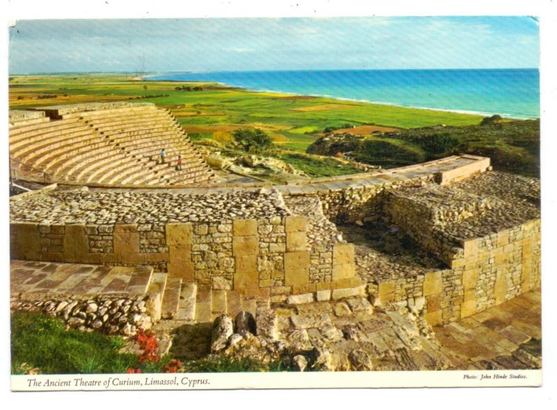 CYPRUS - LIMASSOL, Ancient Theatre of Curium