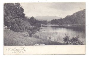 UK - ENGLAND - CUMBRIA - RYDAL, Rydal Water, 1902