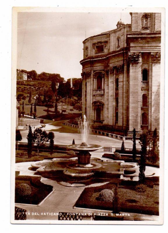 VATICAN - Fontana di Piazza S. Marta