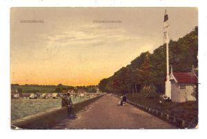 DK 6400 SONDERBORG / SONDERBURG, Strandpromenade, 1916