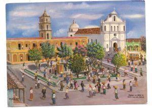 GUATEMALA CITY, Parque La Union, Sta. Cruz del Quiche