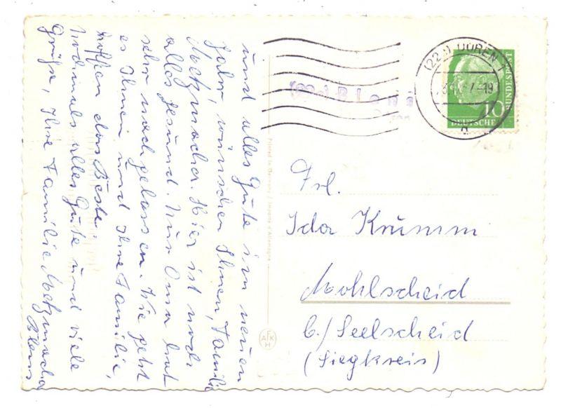 5169 HEIMBACH - BLENS, POSTGESCHICHTE, Landpoststempel
