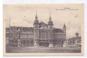 B 4800 VERVIERS, Gare Central, Bahnhof / Station, 1946