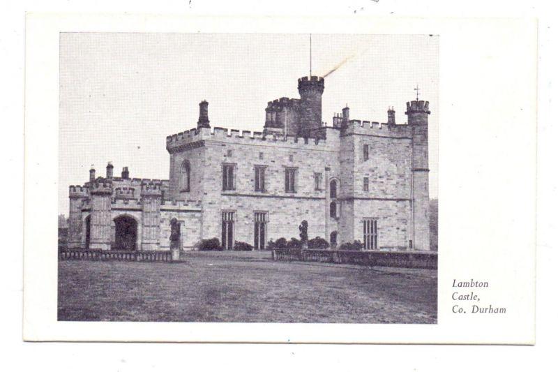 UK - ENGLAND - DURHAM, Lambton Castle, 1955