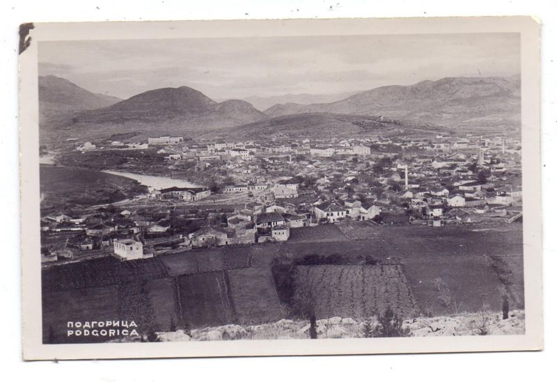 MONTENEGRO - PODGORICA, Panorama