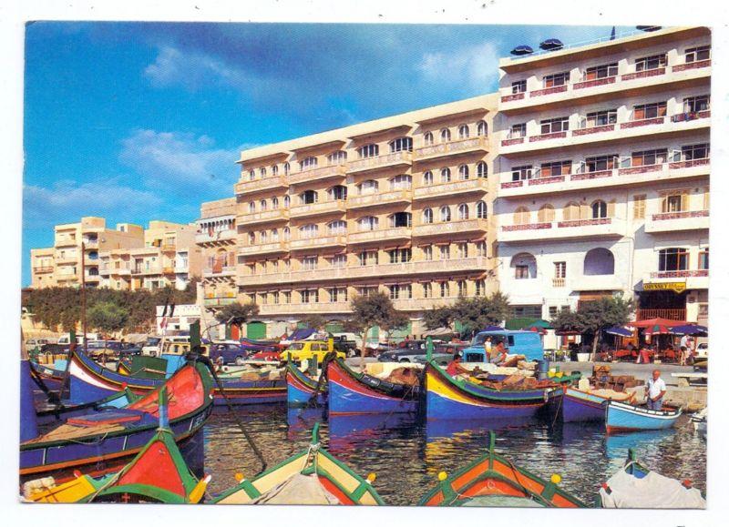 MALTA - GOZO, Fishing Harbour