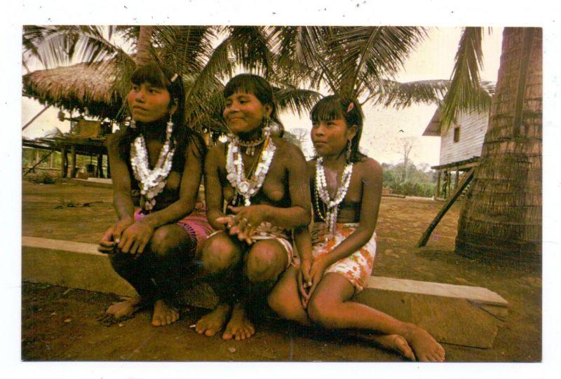 PANAMA - CHOCO INDIAN GIRLS, ethnic / Völkerkunde