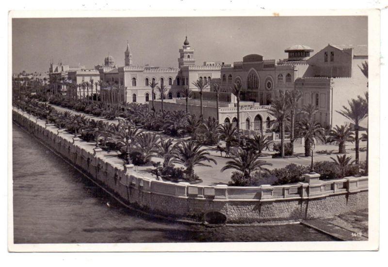 LIBYEN - TRIPOLIS, 1938, KDF-Reise Wilhelm Gustloff, Schiffspost