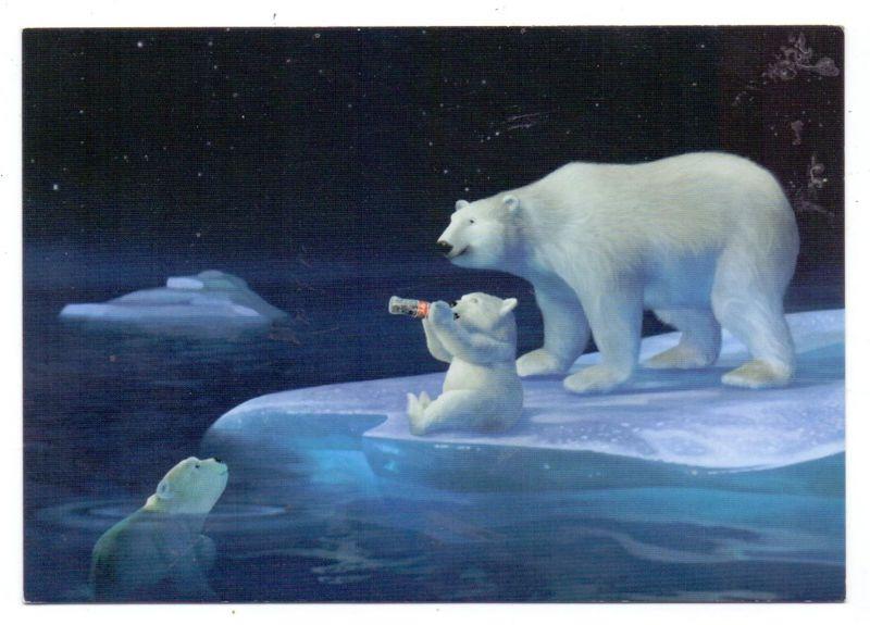 WERBUNG / PUB / ADVERTISING - COCA - COLA, Eis-Bären / Ice Bears, 2000