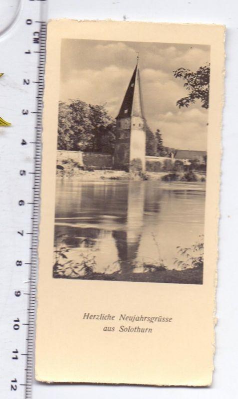 CH 4500 SOLOTHURN SO, kleine Grußkarte, 12 x 6 cm
