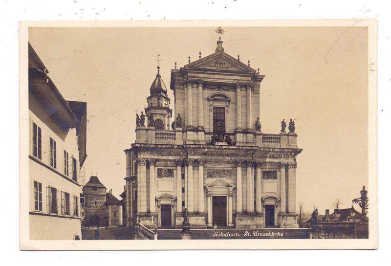 CH 4500 SOLOTHURN SO, St. Ursuskirche, 1928